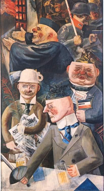 Le colonne della societa' (George Grosz)